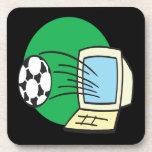 Fantasy Soccer Beverage Coaster