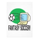 Fantasy Soccer Invitation