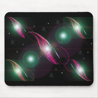 Fantasy Solar System Lighted Mouse Pad