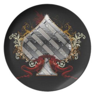 Fantasy Spade Plate
