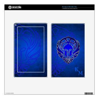 Fantasy Spartan Greek Warrior Blue Kindle Skin