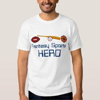 Fantasy Sports Hero T-shirt