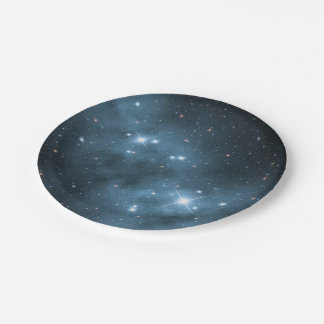 Fantasy Star Dust 7 Inch Paper Plate