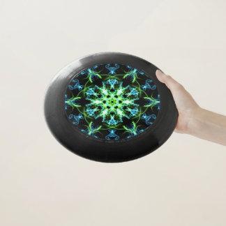Fantasy star flower art frisbee