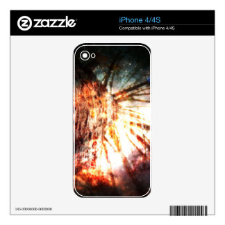 Fantasy Starry Forest 2 iPhone 4S Skin