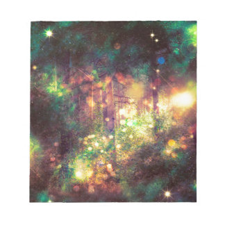 Fantasy Starry Forest 3 Notepad
