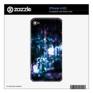 Fantasy Starry Forest 4 Decals For The iPhone 4S