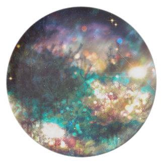 Fantasy Starry Forest 5 Dinner Plate