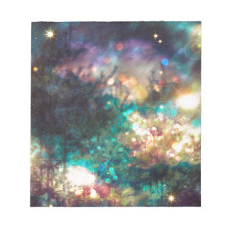 Fantasy Starry Forest 5 Notepad