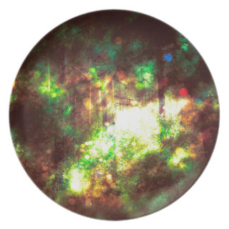 Fantasy Starry Forest 6 Plate