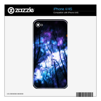 Fantasy Starry Forest 7 Skins For iPhone 4