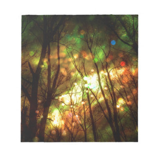 Fantasy Starry Forest Notepad