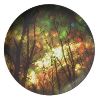 Fantasy Starry Forest Plate