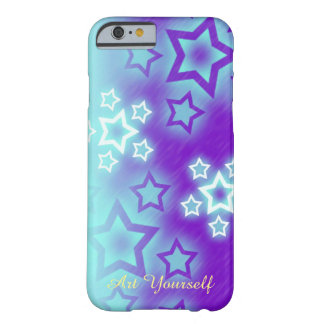 Fantasy Stars Palm Silhouette Sky Background Barely There iPhone 6 Case