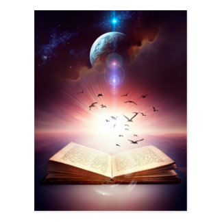 Fantasy Storybook Postcard