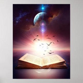 Fantasy Storybook Poster