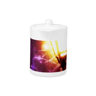 Fantasy Street Lamp Teapot