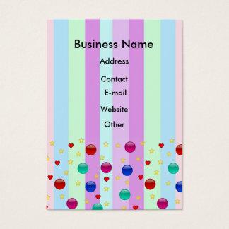Fantasy Stripes Business Card