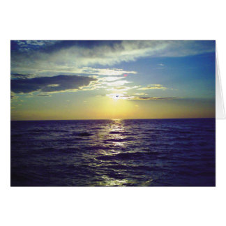 Fantasy Sunset 1 Note Card