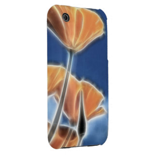 Fantasy Surreal California Poppies Case-Mate iPhone 3 Case
