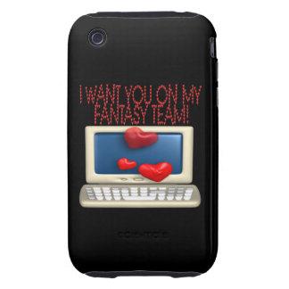 Fantasy Team iPhone 3 Tough Cases