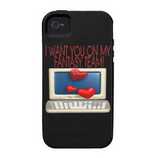 Fantasy Team Vibe iPhone 4 Covers