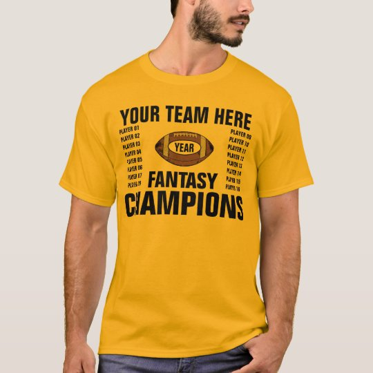 FANTASY TEAM CHAMPIONS T-Shirt