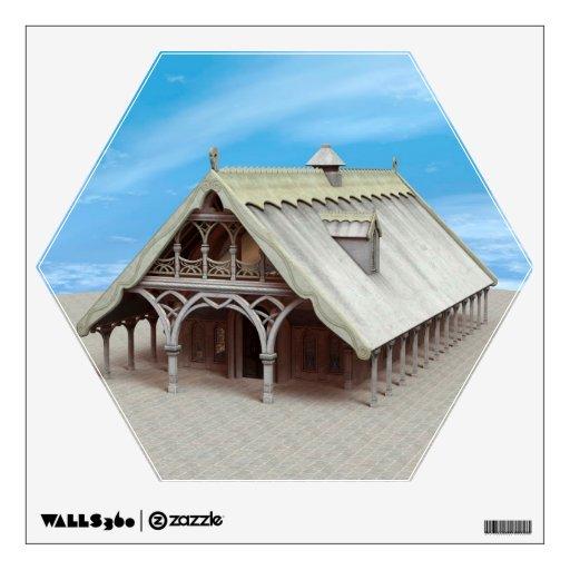 Fantasy Temple Wall Sticker
