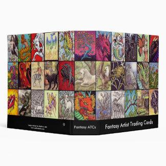 Fantasy Themed ATC Collectors Album 3 Ring Binders
