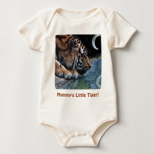 Fantasy Tiger & Moon Baby Bodysuit