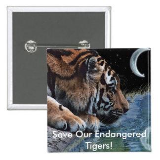 Fantasy Tiger & Moon Pin