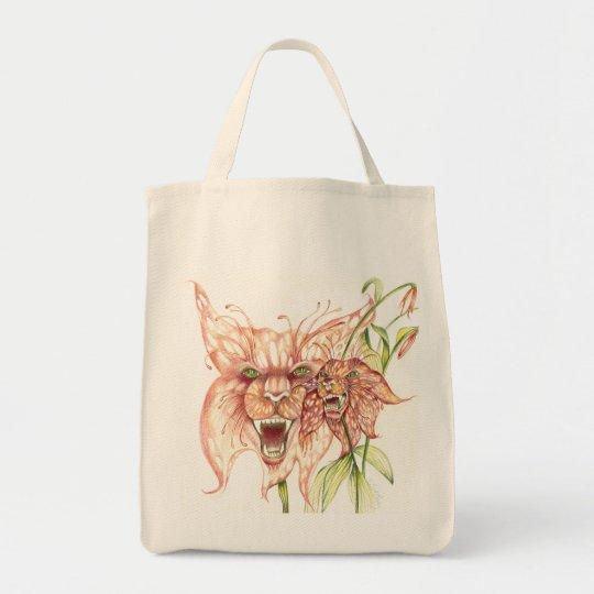 Fantasy Tigerlilies Tote Bag