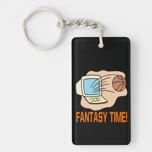 Fantasy Time 2 Double-Sided Rectangular Acrylic Keychain