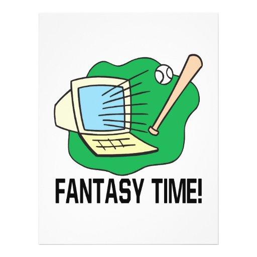 "Fantasy Time 8.5"" X 11"" Flyer"