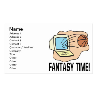 Fantasy Time Business Card