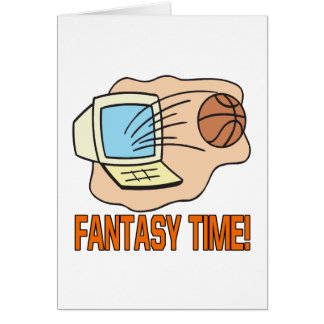 Fantasy Time Card