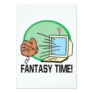 Fantasy Time Card