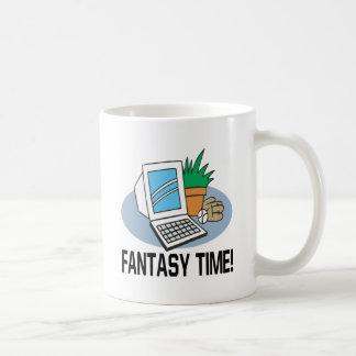 Fantasy Time Classic White Coffee Mug