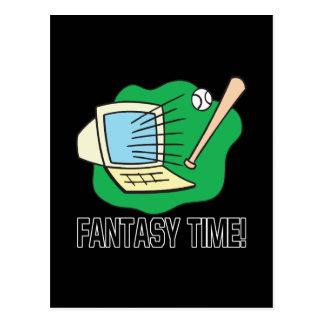 Fantasy Time Postcard