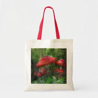 Fantasy Toadstools Tote Bag