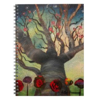 Fantasy Tree Art Notebook