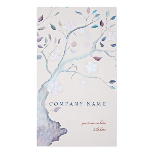 Fantasy Tree Business Card Template
