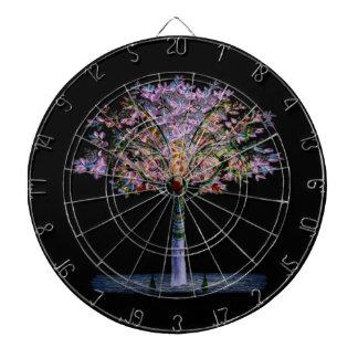 Fantasy Tree Digital Design Dart Board