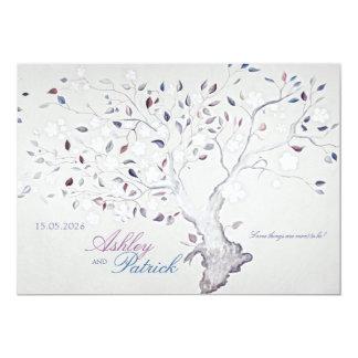 Fantasy Tree Wedding Card