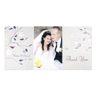 Fantasy Tree Wedding Thank You Card