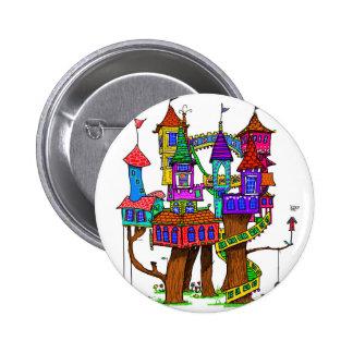 Fantasy Treehouse Button