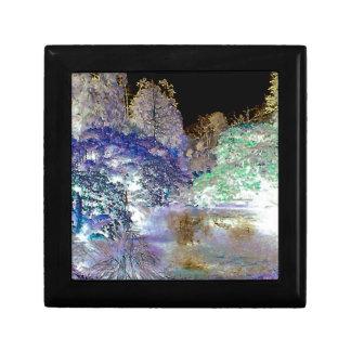 Fantasy Trees Abstract Landscape Gift Box