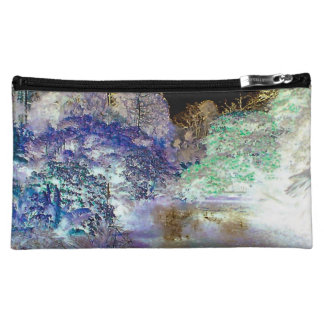 Fantasy Trees Abstract Landscape Makeup Bag