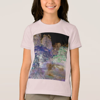 Fantasy Trees Abstract Landscape T-Shirt