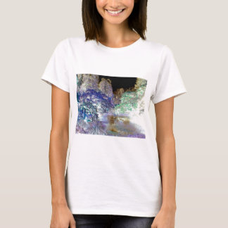 Fantasy Trees Abstract Landscape T-Shirt